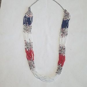 NWOT beaded necklace